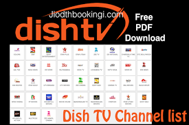 Dish Tv Packages Comparison Chart Dish Tv Channel List 2018 With Price In Pdf Download Now