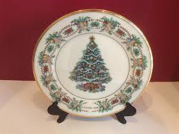 Lenox Christmas Trees Around The World Italy  No Box  Natal Lenox Christmas Tree Plates