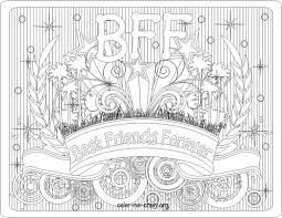 Small Picture Best Bff Coloring Pages 30 In Download Coloring Pages With Bff
