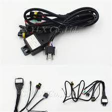 online buy whole 12v 35w wiring harness controller hid from high quality 12v 35w hid bi xenon h4 wire harness controller for car headlight retrofit connect