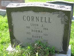 Cornell, Norma (Fairview Cemetery) | Niagara Falls Canada