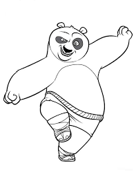 Small Picture Free Printable Kung Fu Panda Coloring Pages For Kids