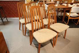 Consign Design Edmonton Set Of 6 Teak Dining Chairs Consign Design Edmonton