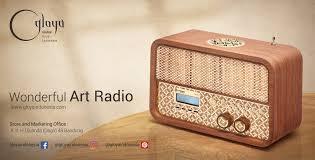 office radio. GLOYA By Kriya Nusantara Office Radio