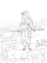 David And Goliath Coloring Page And Coloring Pages Printable And