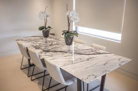 breathtaking marble kitchen table 7 magic unique and chairs