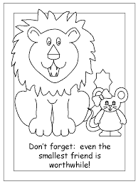 Lion and mouse | education | Pinterest | Lions, Mice and Kindergarten