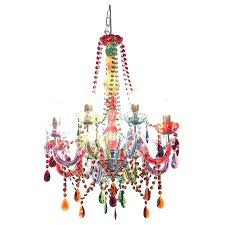 colored crystal chandelier multi beats a really chandeliers wide amber