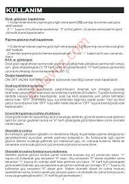 Silverline VDM104 ELEKTRİKLİ ANKASTRE Ocak - Kullanma Kılavuzu - Sayfa:8 -  ekilavuz.com