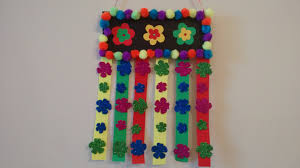 absolutely wall hanging idea craft simple and easy for kid you school with waste material