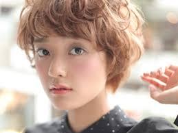 ふわふわカールが可愛いマッシュパーマスタイル ヘアスタイル髪型