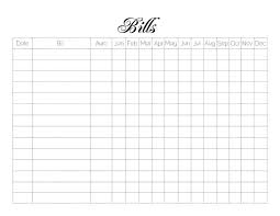 Free Printable Bill Payment Schedule Best Photos Of Bills Schedule Worksheet Free Printable