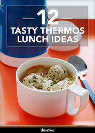 12 creative thermos lunch ideas besides