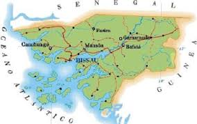 Image result for fronteiras da guine bissau