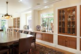 wall cabinet design for dining room