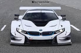 Bmw I8 Dtm Race Car Gets Rendered Bmw I8 Bmw Race Cars