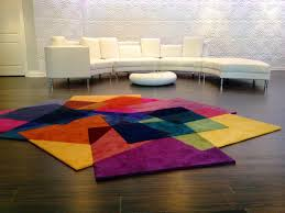 image of all modern area rugs