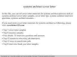 Top   architect cover letter samples LiveCareer
