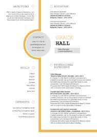 Cv Template Innovative Resume Mycvfactory