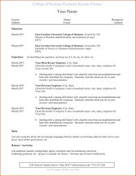 Resume Templates For College Lcysne Com