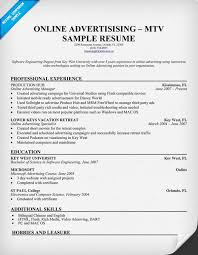 Online Resumes Examples