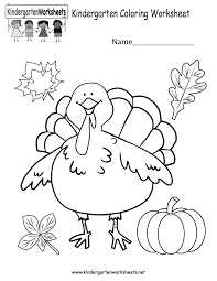 Coloring Worksheets For Kids With Printing Color Also Activity