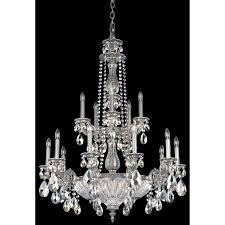schonbek milano 19 light chandelier wayfair