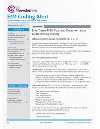 Evaluation And Management Coding Chart E M Coding Billing Alert E M Codes Services