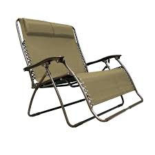 outdoor sport chairs caravan sports infinity love seat beige metal reclining patio lawn chair the home