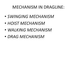 dragline machine at dhudhichua project singrauli drag mechanism 15