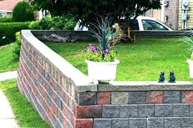 cinderblock wall cost cost of retaining wall block retaining wall costs image of cinder block retaining cinderblock wall cost waterproofing