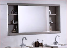 Stylist Ideas Mirror Bathroom Cabinet Cabinets UK With Extra