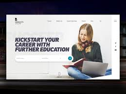 Design Courses Leeds Leeds City College Home Page Concept By Charlie Hartley For