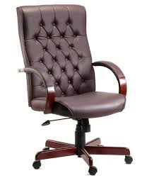 brown leather office chair. Fine Leather Image Of The Teknik Warwick Brown Leather Executive Office Chair B8501BR Inside