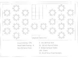 Wedding Seating Charts Templates Free Fresh Template For 6