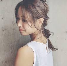 前髪ありなしマネしたい大人かわいいロングヘアの髪型25選 Arine