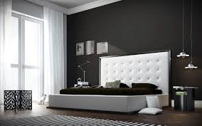 Latest Bedroom Bedroom White Leather Headboard Queen Size With Accent Wall Color