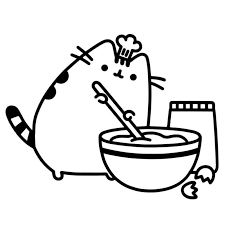 Printable Pusheen Coloring Pages Super Coloring Page