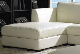 low profile sofa. Stylish Off White Leather Furniture Modern Low Profile Sectional Sofa Wottoman R