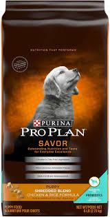 Purina Pro Plan Puppy Large Breed Feeding Chart Purina Pro Plan Savor Puppy Shredded Blend With Probiotics Chicken Rice Formula Dry Dog Food 6 Lb Bag