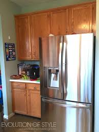 Kitchen Cupboard Makeover A Revere Pewter Kitchen Cabinet Makeover Evolution Of Style