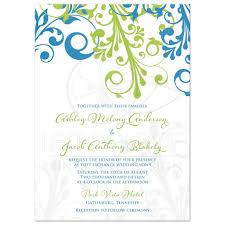 blue and green wedding invitations justsingit com Wedding Invitation Blue And Green wedding invitation cerulean blue lime green modern floral wedding invitation blue green motif