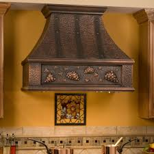copper brown stove hood match