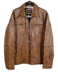 scully camel leather lambskin jacket
