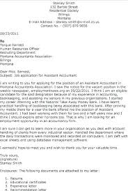 Cover Letter Example Accounting Best Accounting Finance Cover Letter