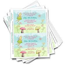 Tinkerbell Invitations Printable Printable Tinkerbell Inspired Fairy Invitation Template