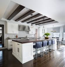 Kitchen Ceilings Watch More Like Painted Tray Ceiling With Beams Kitchen
