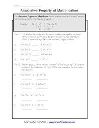Distributive Property Worksheets Google Search Homework ...