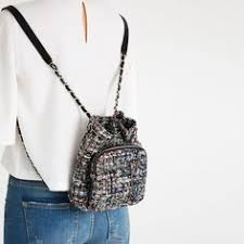 QUILTED CHAIN BACKPACK - View all-BAGS-WOMAN | ZARA United States ... & MINI FABRIC QUILTED BACKPACK Adamdwight.com