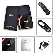H96 Pro Plus Android TV Box 7.1 3GB RAM+32GB ROM: Amazon.de: Elektronik